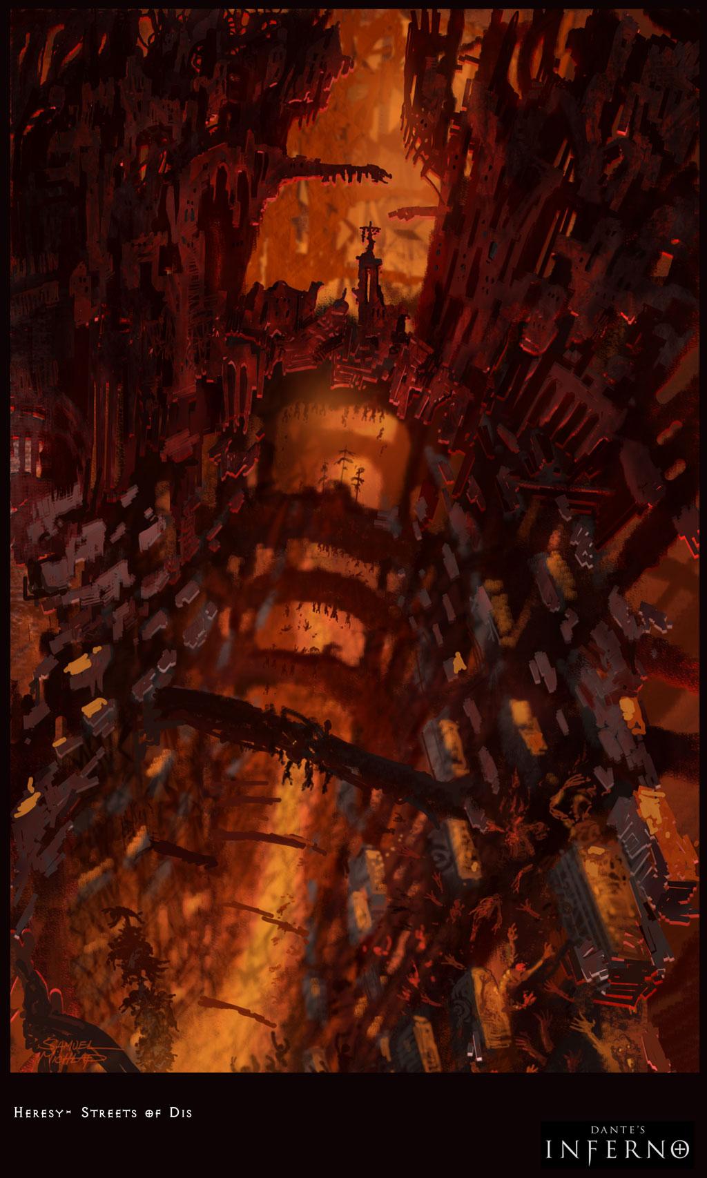Dante S Inferno Final Ring Frozen People