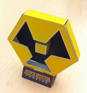 DNF Nukem Symbol papercraft
