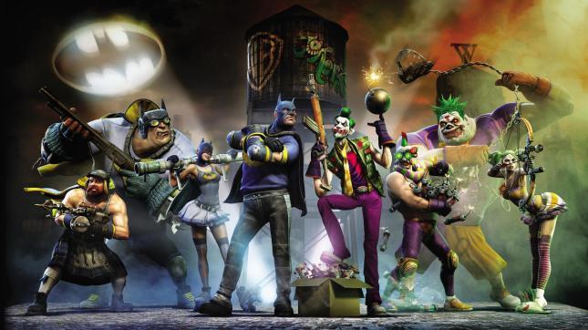 Gotham City Impostors Concept Art