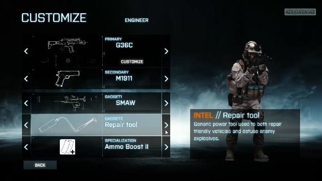 Battlefield 3  Weapon Customization