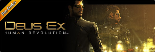 Pre-order за Deus Ex: Human Revolution