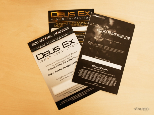 Deus Ex: Human Revolution Augmented Edition pointless codes