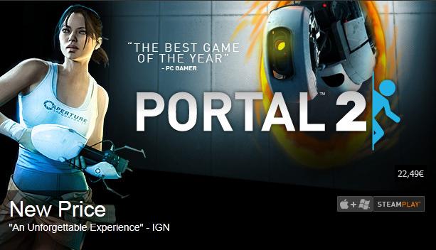Portal 2 с нова цена!
