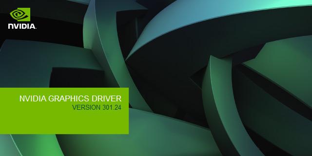 NVIDIA GeForce 301.24 Beta Drivers