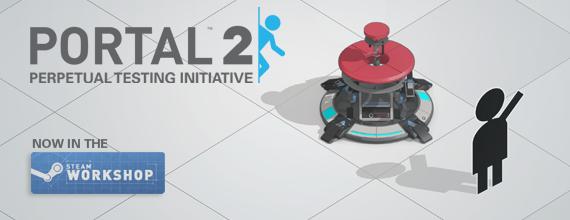 Portal 2 Perpetual Testing Initiative is GO