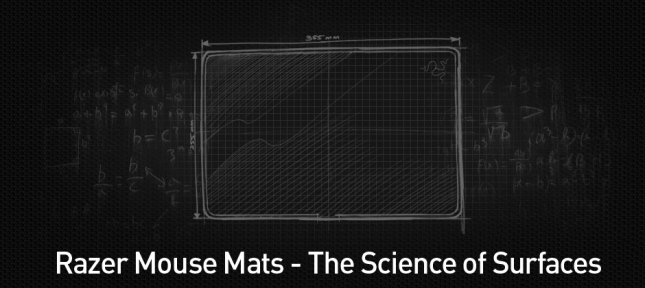 Razer Mouse Mats - The Science of Surfaces