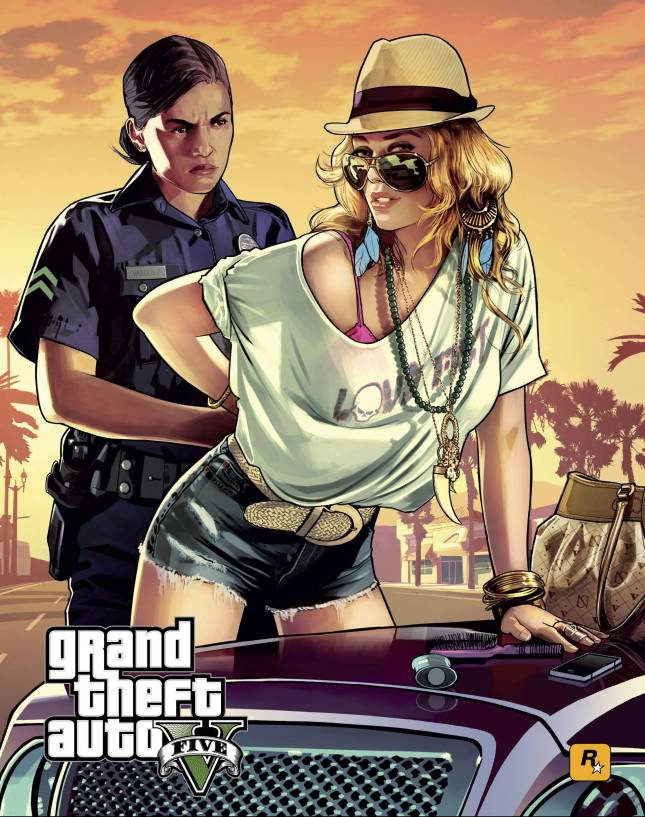 Grand Theft Auto V poster 1