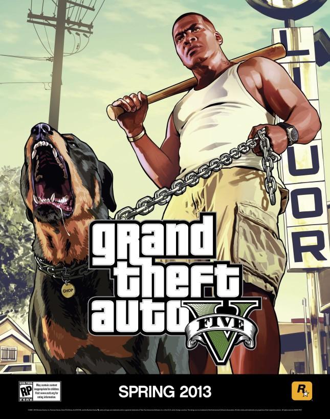 Grand Theft Auto V poster 2
