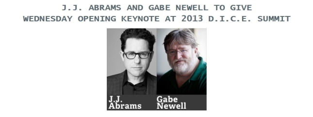 Abrams and Newell on DICE 2013