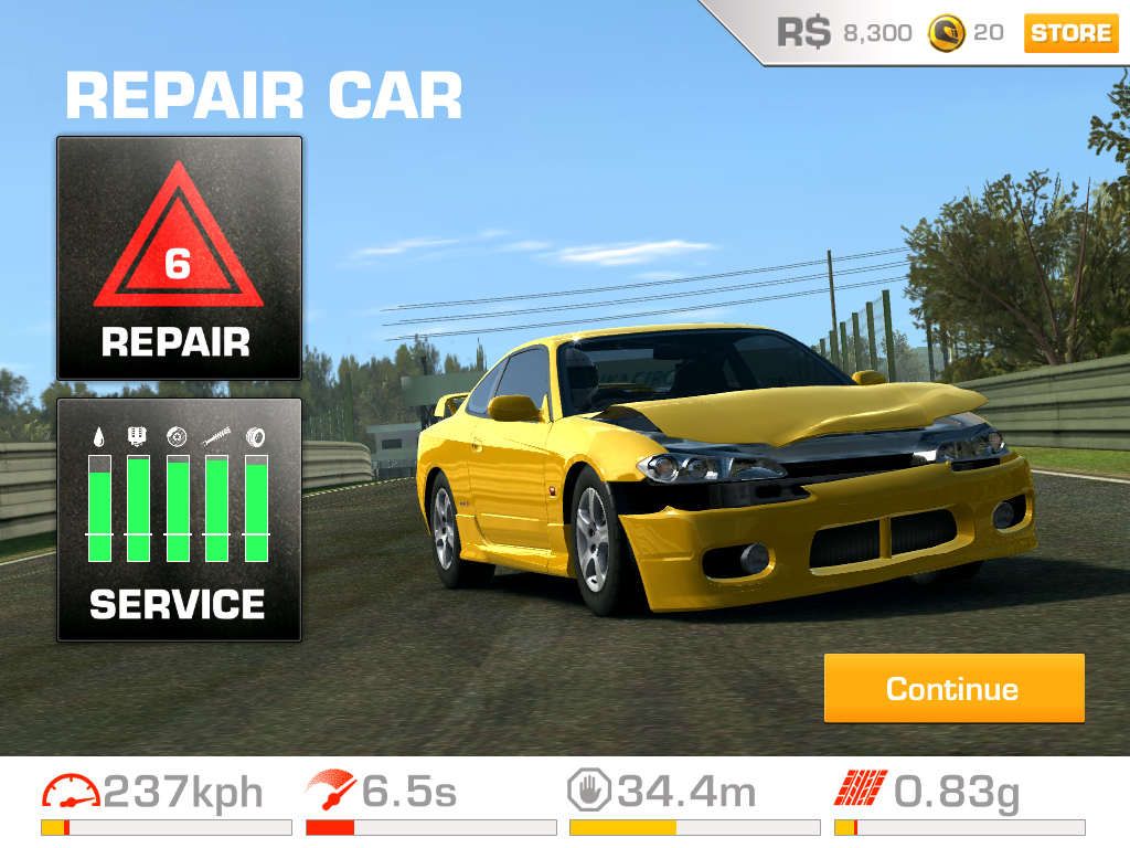 Real Racing  Mod Apk Unlocked All Cars