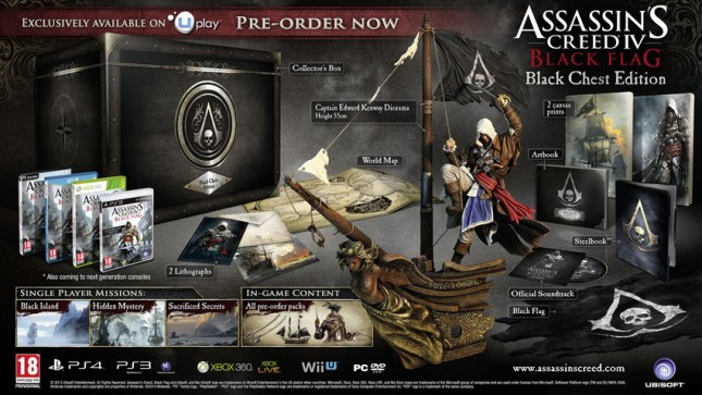 Assassin's Creed IV Black Chest Edition