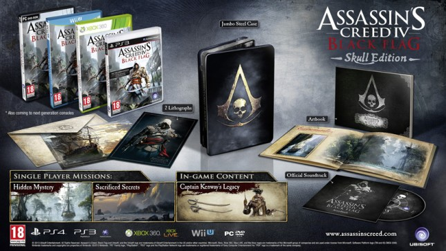 Assassin's Creed IV Skull Edition