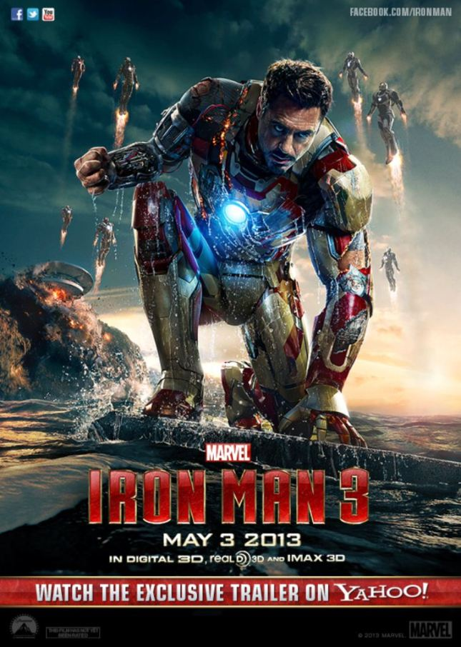 IRON MAN 3 - IN THEATERS MAY 3