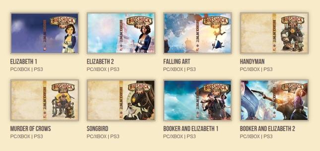 Alternate Covers for BioShock Infinite