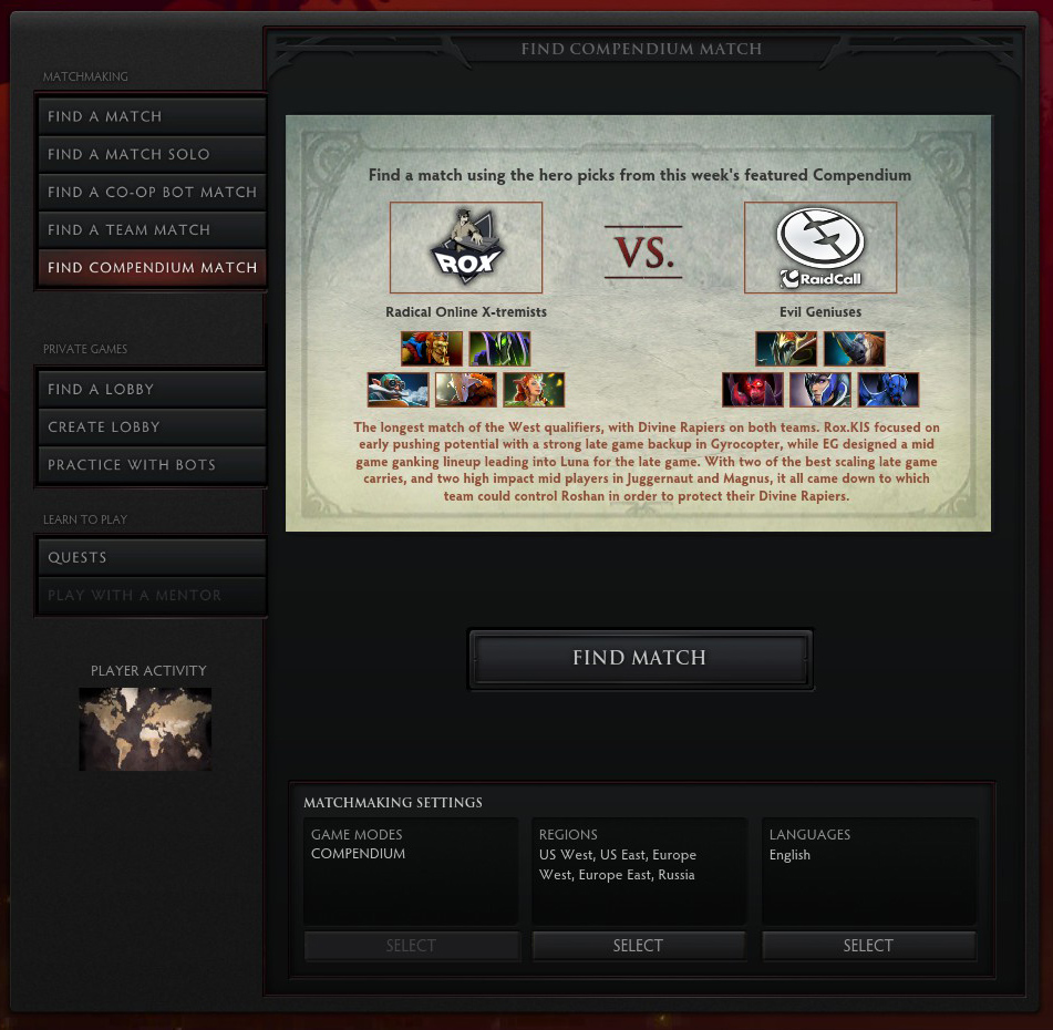Dota 2 matchmaking abuse