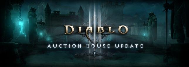 Diablo III Auction House Update