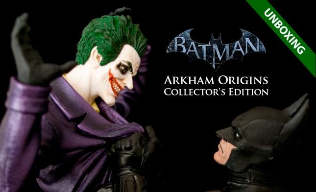Unboxing Batman Origins CE