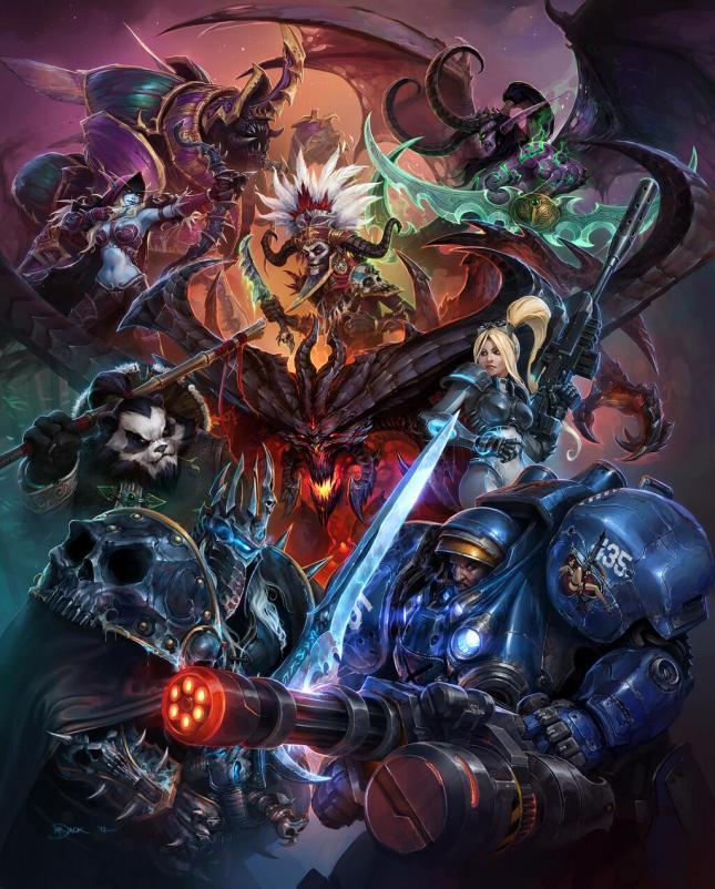 Heroes of the Storm key art