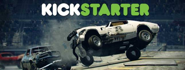 Next Car Game wrecking Kickstarter