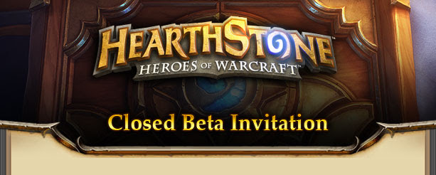 Hearthstone Heroes of Warcraft Beta Test