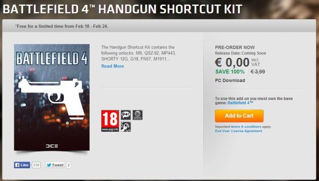 Battlefield-4-Handgun-Shortcut-Kit