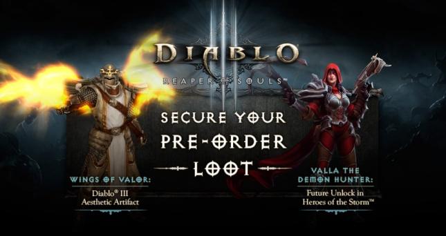 RoS Pre-order loot