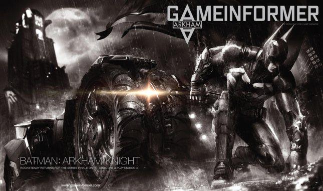Batman Arkham Knight GI Cover 2