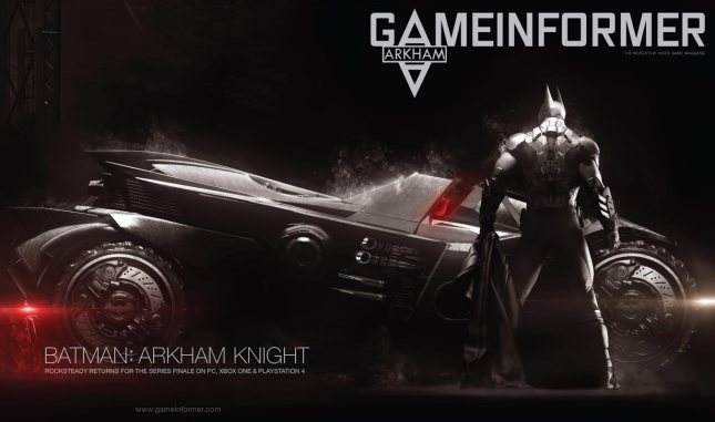 Batman Arkham Knight GI cover