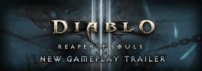 Diablo III Reaper of Souls™ Gameplay Trailer Debut