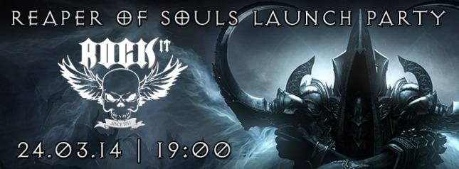 Reaper of Souls Launch Party с Ozone.bg
