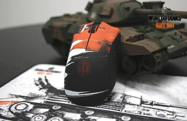 The World of Tanks Razer Peripherals