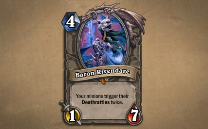 Curse of Naxxramas Cards - Baron Rivendare