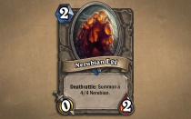 Curse of Naxxramas Cards - Nerubian Egg