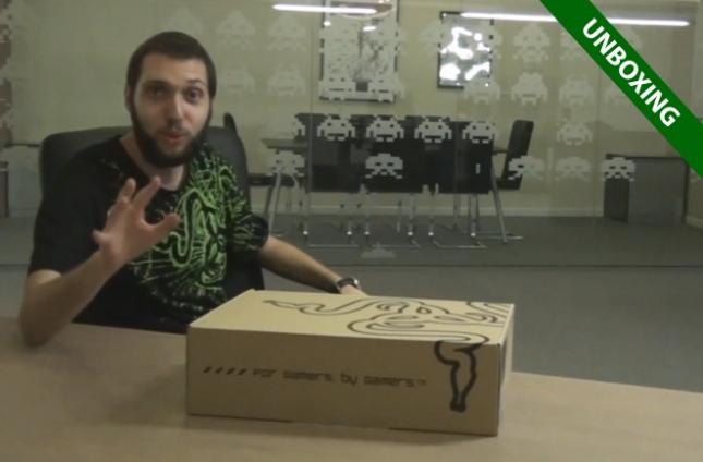 Unboxing-Razer-Blade