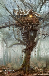 The_Witcher_3_Wild_Hunt-Gingerbread_house