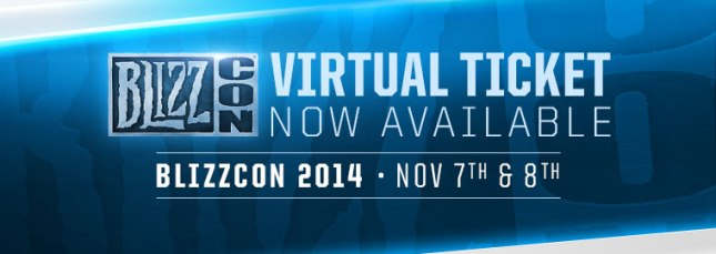 BlizzCon 2014 Virtual Ticket