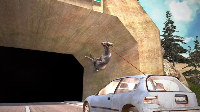 Goat Simulator - out on iOS and Android NOW!