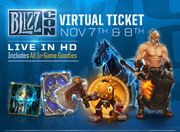 BlizzCon 2014 In-game Goodies