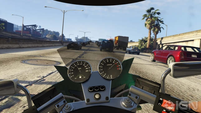 Grand Theft Auto 5 First-Person