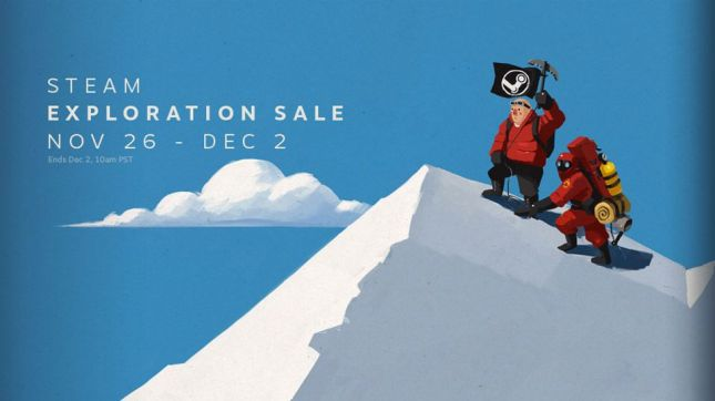 The Steam Exploration Sale