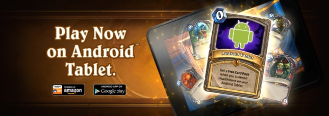 Hearthstone Rolls Out on Android Tablets