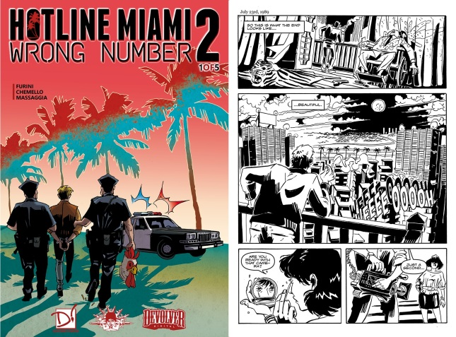 Hotline Miami 2 - Digital Comic 1