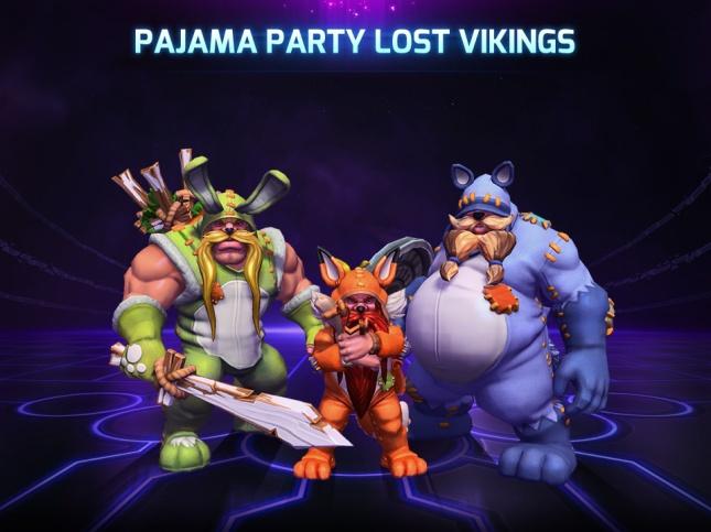 Pajama Party Lost Vikings