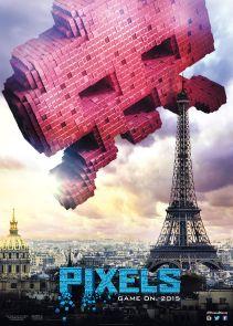 Pixels-Space-Invader-poster