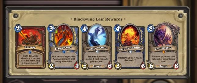 Hearthstone-Blackwing-Lair-rewards