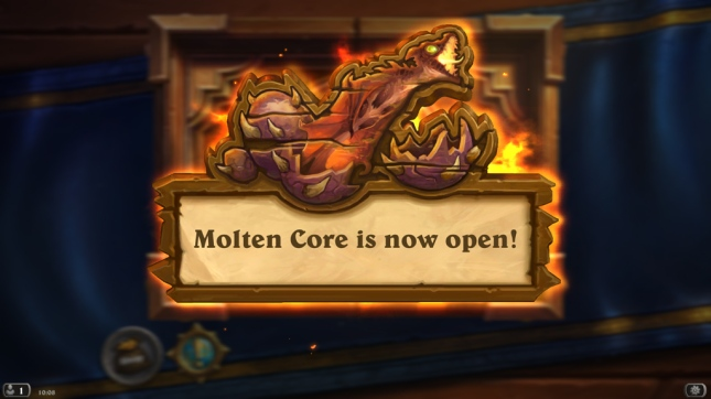Molten-Core-is-now-open!-[Hearthstone]