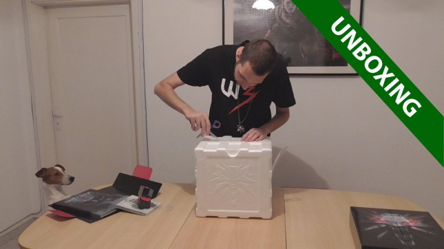 Unboxing The Witcher 3 Wild Hunt - Collector's Edition