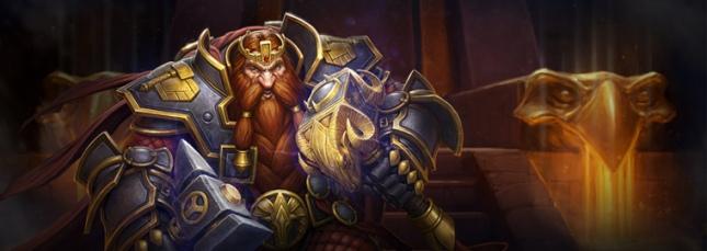New Hearthstone Hero Magni Bronzebeard
