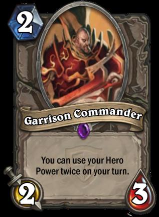 Garrison Commander