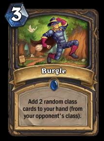 Burgle